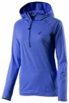 ASICS Damen Laufshirt / Sweatshirt LS Hoodie Langarm, Größe XS in Blau