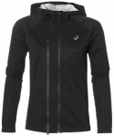 ASICS Damen Laufjacke Accelerate Jacket, Größe L in Grau