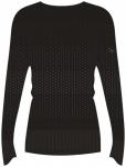 ASICS Damen Laufshirt fuzeX Seamless langarm, Größe L in Schwarz