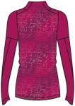 ASICS Damen Laufshirt Lite-Show Wintertop Langarm, Größe L in Rot