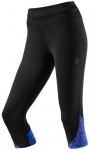 ASICS Damen Tight Overknee Race, Größe L in Schwarz/Blau
