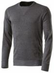 ASICS Herren Sweatshirt /  Laufshirt FuzeX Crew Langarm, Größe XL in Grau