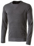 ASICS Herren Sweatshirt /  Laufshirt FuzeX Crew Langarm, Größe S in Grau