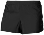 ASICS Damen SHORT PANTS SHORT 3.5IN, Größe L in Schwarz