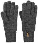 BARTS Handschuhe Fine Knitted Gloves, Größe S in Grau