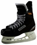 BAUER Kinder Eishockeyschuhe Supreme Pro Jr., Größe 1 in Schwarz