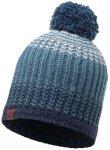 BUFF Bommelmütze Knitted & Polar Hat Borae in Blau