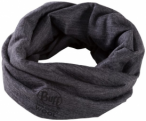 BUFF Multifunktionstuch Lightweight Merino Wool, Größe ONE SIZE in Grau
