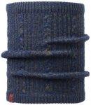 BUFF Schlauchschal Knitted Neckwarmer Comfort Braidy in Blau