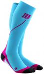 CEP Damen pro+ run socks 2.0, Größe II in Blau