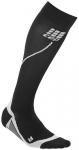 CEP Damen Socke pro+ run 2.0, Größe II in Schwarz/Grau