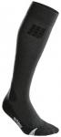 CEP Herren pro+ outdoor merino socks, Größe V in Grau/Schwarz