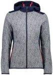 CMP Damen FIX HOOD JACKET, Größe 36 in Grau