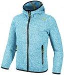 CMP Kinder Sweatshirt GIRL JACKET FIX HOOD, Größe 128 in Blau