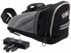 CYTEC Fahrradtasche Satteltasche, Größe L in Schwarz/Grau, Größe L in Schwar