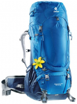 DEUTER Damen Trekkingrucksack Aircontract Pro 55 + 15 SL, Größe ONE SIZE in oc