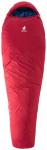 DEUTER Schlafsack Orbit -5°, Größe 1 in cranberry-steel