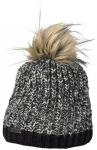 Eisglut Mütze Patti, Größe - in Schwarz/Grau