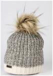 Eisglut Mütze Patti, Größe - in Weiß/Silber