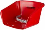 EKO Schlitten Bob Sitz Jenny, Größe 1 in Rot, Größe 1 in Rot