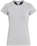 ENERGETICS Damen T-Shirt Gamantha 3, Größe 36 in Hellgrau/Grau, Größe 36 in