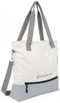 ENERGETICS Fitnesstasche TB 15L W, Größe 15 in GREY DARK/ WHITE