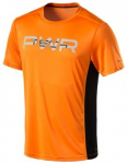 ENERGETICS Herren Shirt Maverick, Größe S in Orange/Schwarz, Größe S in Oran