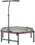 ENERGETICS Minitrampolin mit Haltegriff, Größe ONE SIZE in Schwarz/Orange