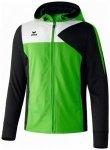ERIMA Herren Premium One Trainingsjacke mit Kapuze, Größe S in Grün