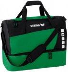 ERIMA Sporttasche mit Bodenfach, Größe M in Grün