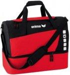 ERIMA Sporttasche mit Bodenfach, Größe M in Rot