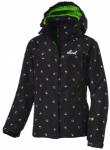 etirel Kinder Skijacke Rosie, Größe 128 in Schwarz