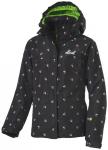 etirel Kinder Skijacke Rosie, Größe 152 in Schwarz / Bunt / Grün