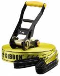 GIBBON Slackline Classic 15m, Größe 15 in Gelb