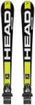 HEAD Herren Racing Ski Set Supershape Speed SW TFB+PRX 12, Größe 163 in Schwar