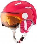 HEAD Kinder Helm MAJA Visor pink, Größe XS in -