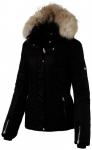 ICEPEAK Damen Jacke CAROL, Größe 44 in Schwarz