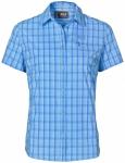 JACK WOLFSKIN Damen Bluse Centaura Stretch Vent Shirt W, Größe M in Blau