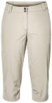 JACK WOLFSKIN Damen Caprihose Kalahari 3/4 Pants, Größe 34 in White Sand
