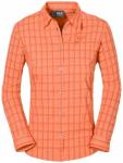 JACK WOLFSKIN Damen Hemd Centaura Flex Shirt W, Größe XL in Orange