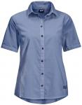 JACK WOLFSKIN Damen Hemd INDIAN SPRINGS SHORTSLEEVE, Größe XL in Blau