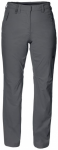 JACKWOLFSKIN Damen Wanderhose / Trekkinghose Activate Light, Größe 38 in Grau