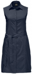 JACK WOLFSKIN Damen Kleid Sonora Dress, Größe M in Midnight Blue, Größe M in