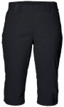 JACK WOLFSKIN Damen Shorts Activate Light 3/4 Pants, Größe 36 in Black