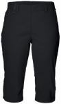 JACK WOLFSKIN Damen Shorts Activate Light 3/4 Pants, Größe 36 in Schwarz
