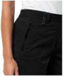 JACK WOLFSKIN Damen Shorts Activate Light 3/4 Pants, Größe 36 in Black, Größ