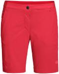 JACK WOLFSKIN Damen Shorts HILLTOP TRAIL SHORTS W, Größe 42 in tulip red