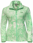 "JACKWOLFSKIN Damen Fleecejacke ""Kiruna Jungle"", Größe XL in Spring Green All O"