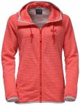 JACK WOLFSKIN Damen Kapuzenjacke Tongari Hooded Jacket Women, Größe L in Rot