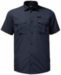 JACK WOLFSKIN Herren Hemd Atacama Shirt, Größe S in Grau